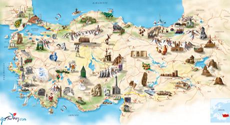 Turkiye-Turizm-Haritasi